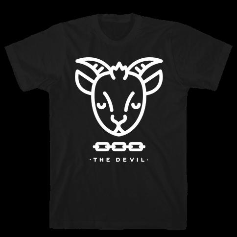 The Devil Tarot Mens T-Shirt
