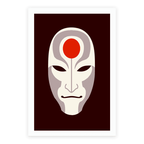 Amon Mask Poster