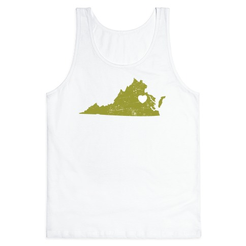 Virginia Heart Tank Top