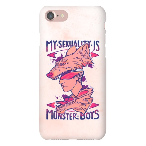 My Sexuality Is Monster Boys Phone Case