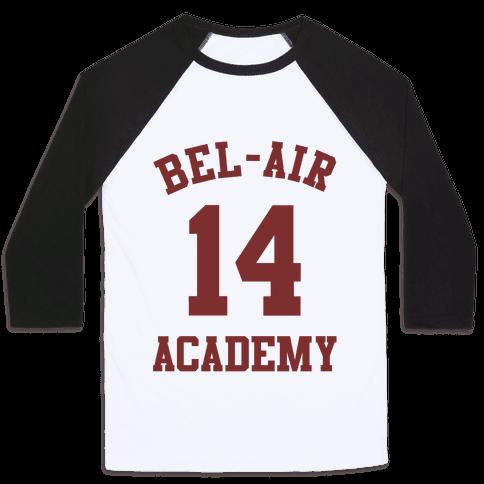 Bel- Air Academy Jersey - 14 Baseball Tee