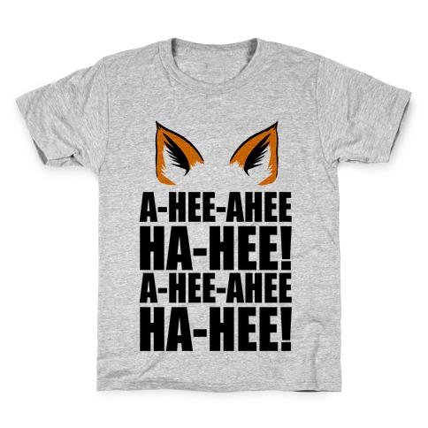 The Fox Says... Kids T-Shirt