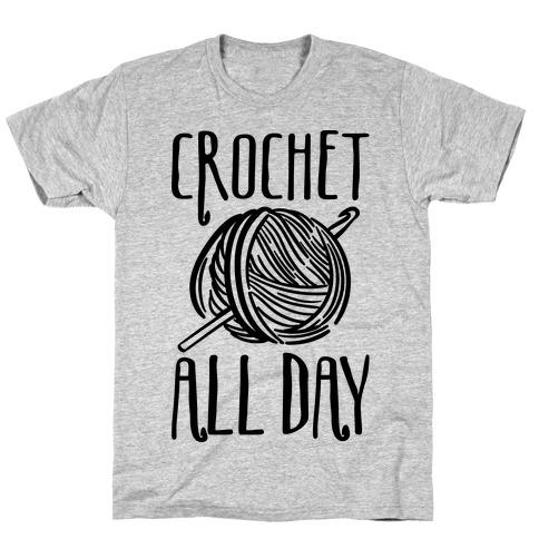 Crochet All Day T-Shirt