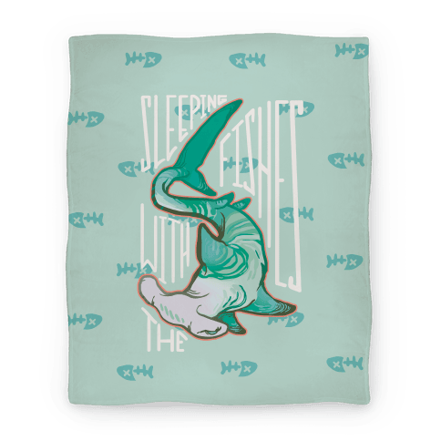 Sleeping With The Fishes Blanket