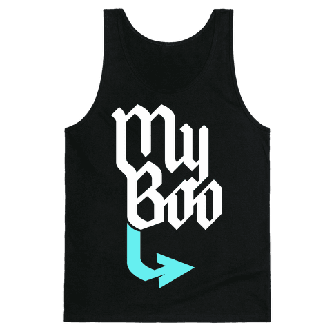 My Boo (Black Blue) Tank Top