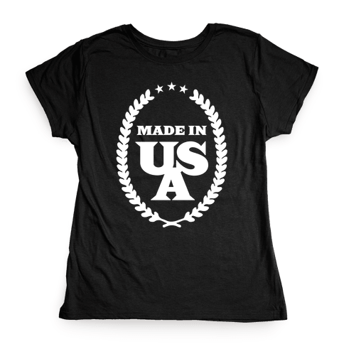American Made Womens T-Shirt