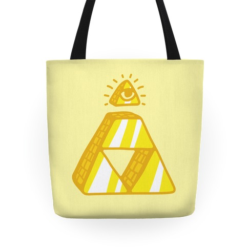 Illuminati Triforce Tote