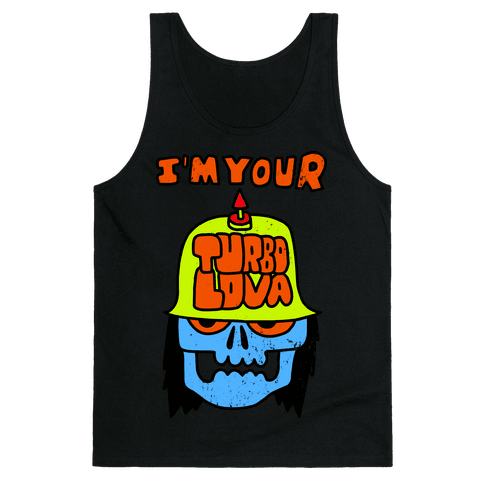 I'm Your Turbo Lover (Vintage) Tank Top