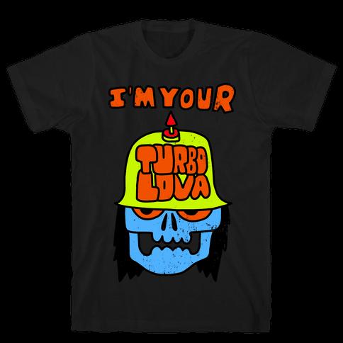 I'm Your Turbo Lover (Vintage) Mens T-Shirt