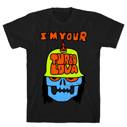 I'm Your Turbo Lover (Vintage) Mens T-Shirt