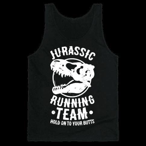 Jurassic Running Team Tank Top