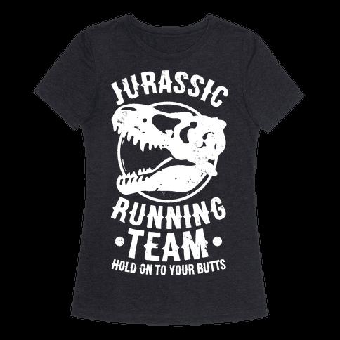Jurassic Running Team T Shirt Lookhuman