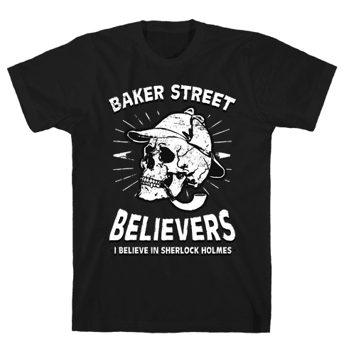 Baker Street Believers Mens T-Shirt