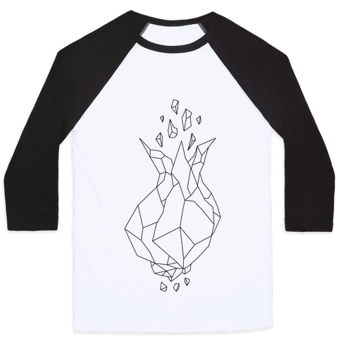 Blooming Crystal Baseball Tee