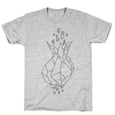 Blooming Crystal Mens T-Shirt