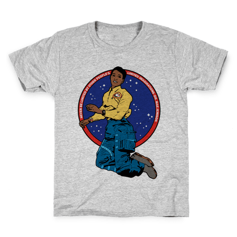 Dr. Mae Jemison Astronaut Kids T-Shirt