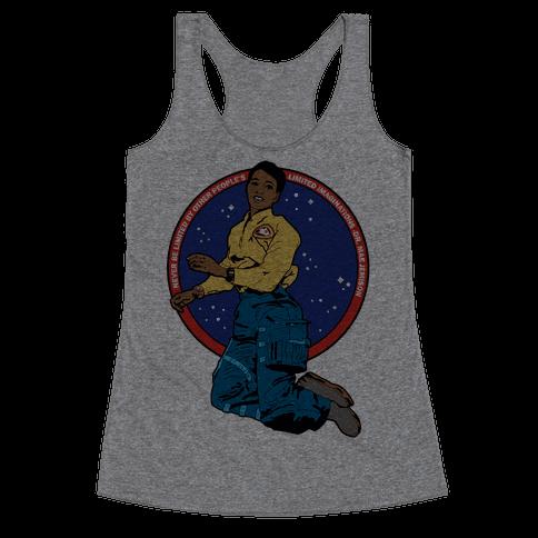 Dr. Mae Jemison Astronaut Racerback Tank Top