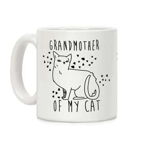 Grandmother of My Cat Coffee Mug