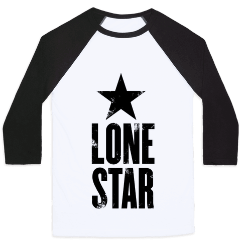 The Lone Star Baseball Tee