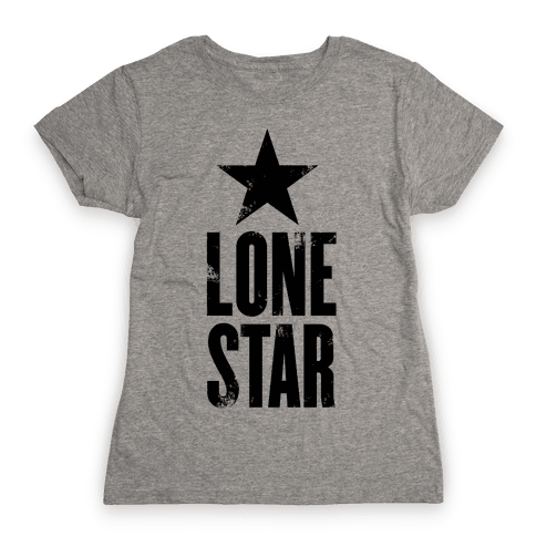 The Lone Star Womens T-Shirt