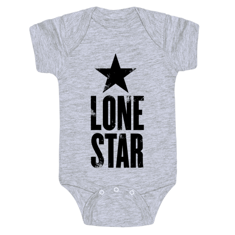 The Lone Star Baby Onesy