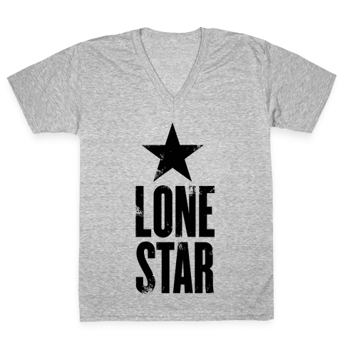 The Lone Star V-Neck Tee Shirt