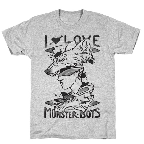 I Love Monster Boys T-Shirt