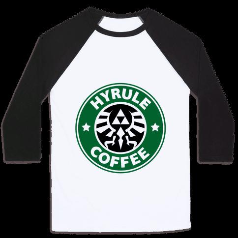 Hyrule Coffee Baseball Tee