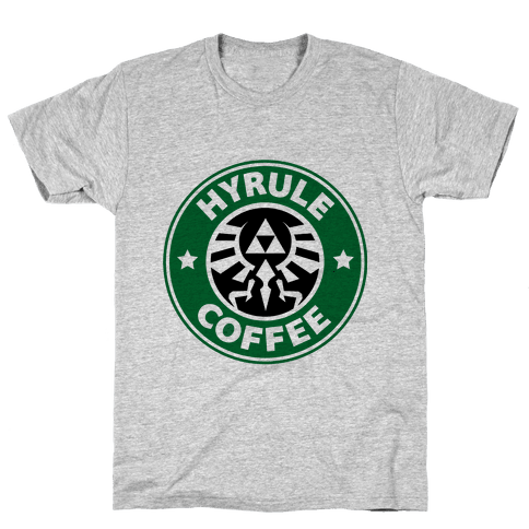 Hyrule Coffee Mens T-Shirt
