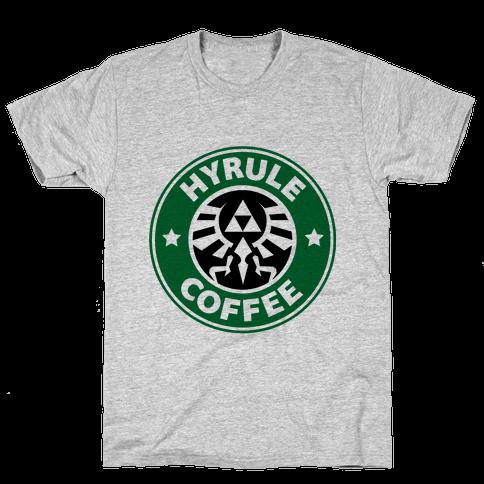 Hyrule Coffee Mens T-Shirt
