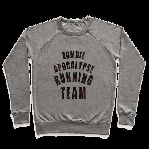 Zombie Apocalypse Running Team Pullover