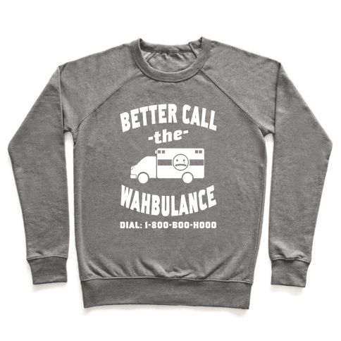 Better Call the Wahbulance Pullover