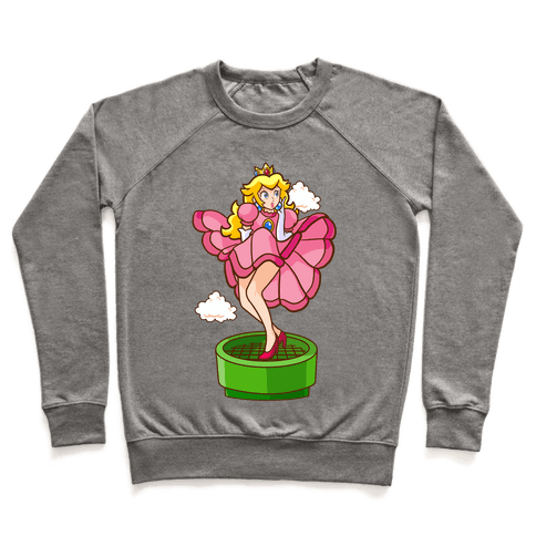 Plumbers Prefer Blondes (Peach Pin-up) Pullover