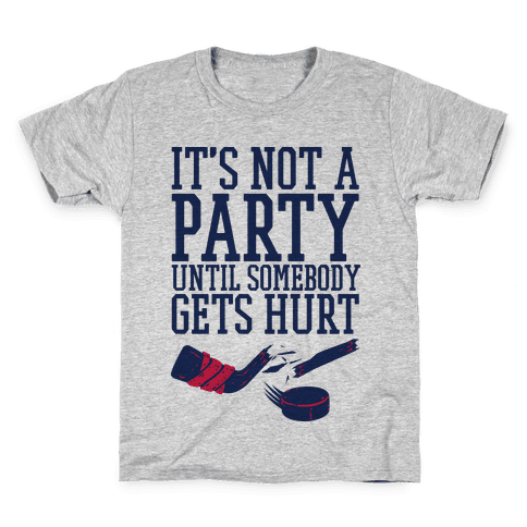 Hockey Party Kids T-Shirt