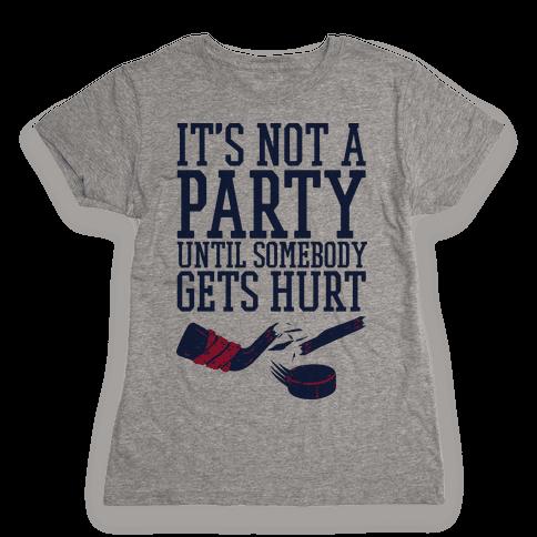 Hockey Party Womens T-Shirt