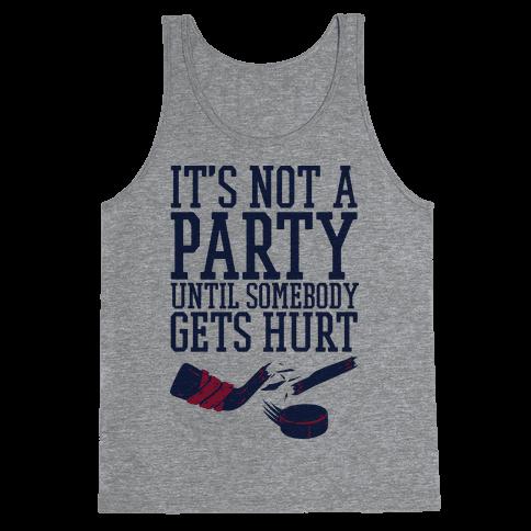 Hockey Party Tank Top