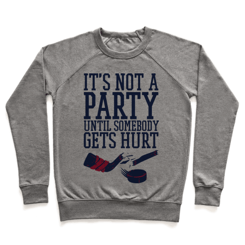 Hockey Party Pullover