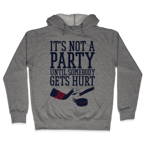 Hockey Party Hooded Sweatshirt