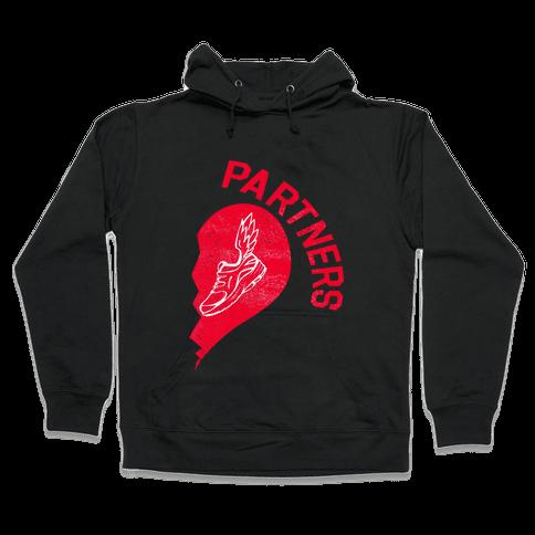 Running Partners Pt.2 Hooded Sweatshirt