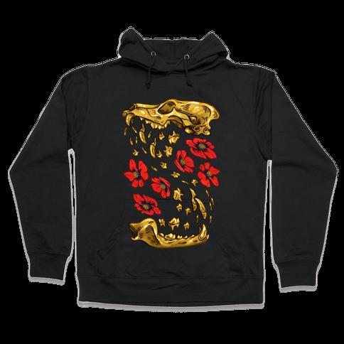 Coyote's Golden Skull Hooded Sweatshirt