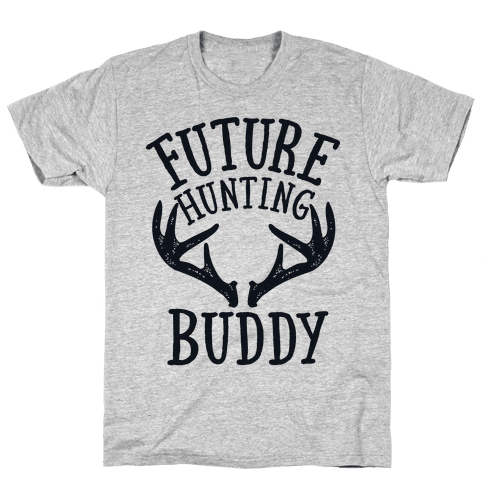 Future Hunting Buddy Mens T-Shirt