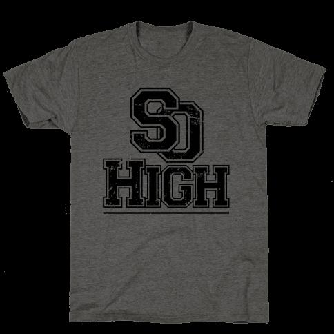 So High Mens T-Shirt