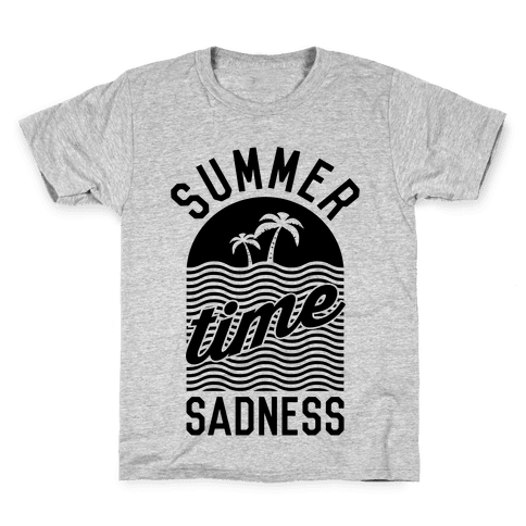 Summertime Sadness Kids T-Shirt