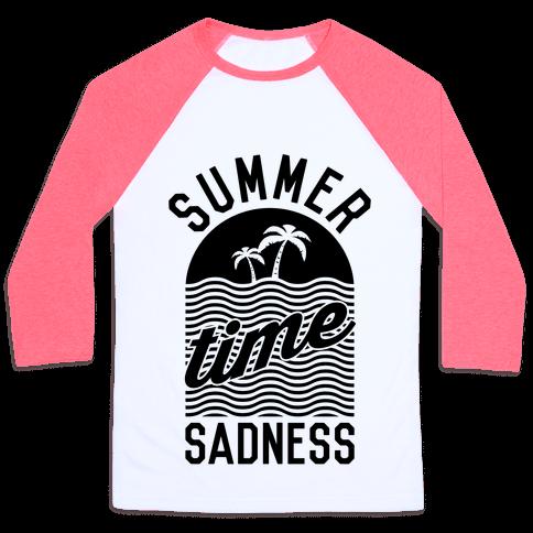Summertime Sadness Baseball Tee