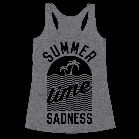 Summertime Sadness Racerback Tank Top