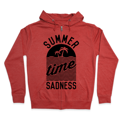Summertime Sadness Zip Hoodie
