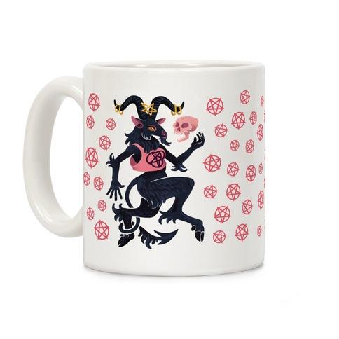 Goth Goat Coffee Mug