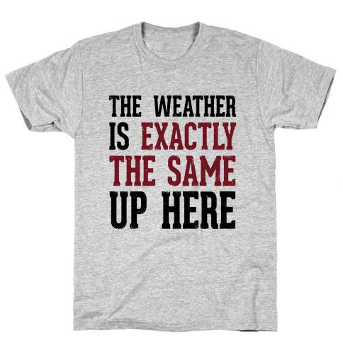 The Weather Is Exactly The Same (Tank) Mens T-Shirt