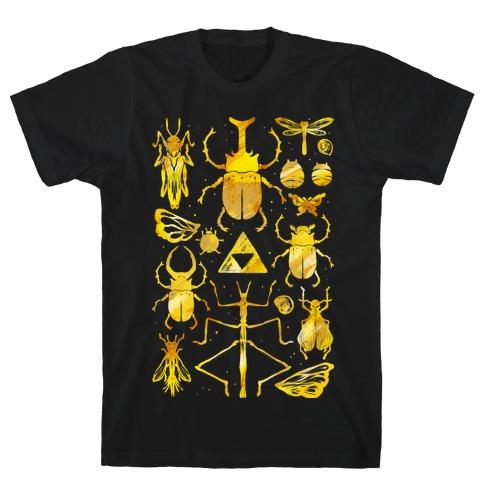 Golden Bug Collector T-Shirt