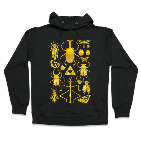 Golden Bug Collector Hooded Sweatshirt